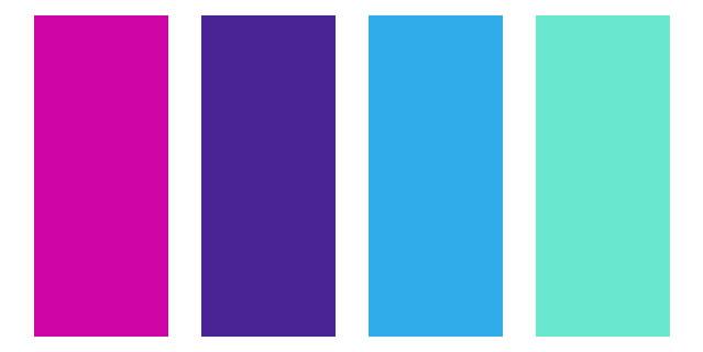 ترکیب رنگ بکار رفته در لوگوی ایمیا