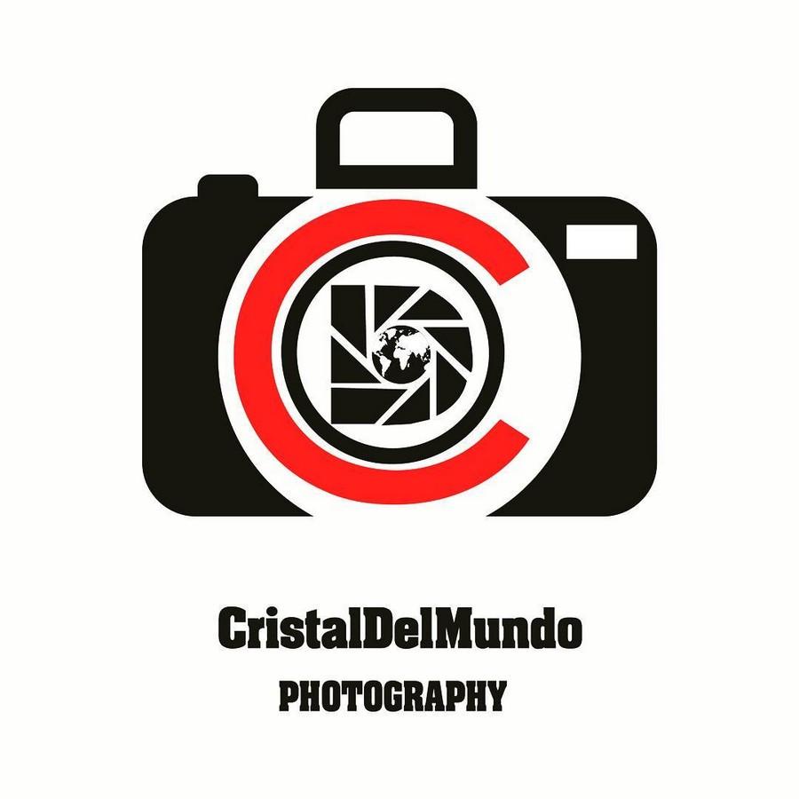 طراحی لوگو برای صفحه CristalDelMundo عکاس فرانسوی